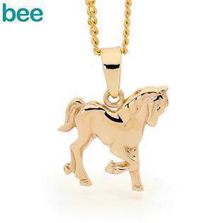 Bee Jewellery Horse 9 kt guld Vedhæng blank, model 62935