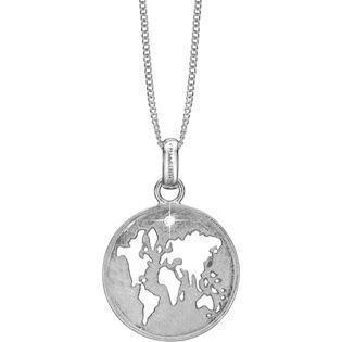 5ebcc096a84 Christina Collect 925 sterling sølv Moder Jord Rundt vedhæng med
