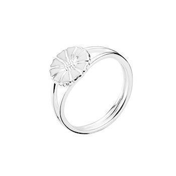 Lund Copenhagen med 9 mm Marguerit 925 sterling sølv Fingerring blank, model 907009-H