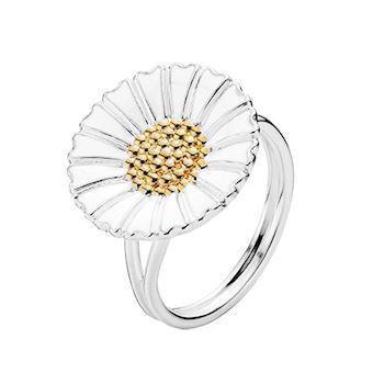 Lund Copenhagen Marguerit 925 sterling sølv Fingerring blank, model 9075018-HM