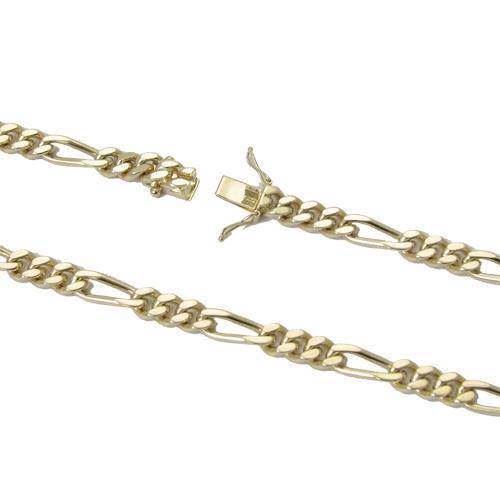 ff1b10ab338 14 kt massive Figaro guld armbånd og halskæder fra Danske BNH