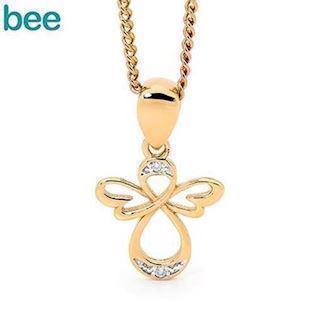 Bee Jewelry Angel 9 karat Collie blank, model 65593