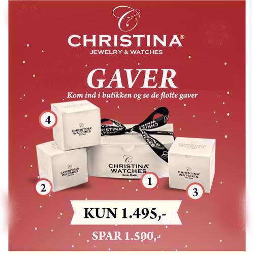 Christina Collect Advents Gave pakke i s�lv