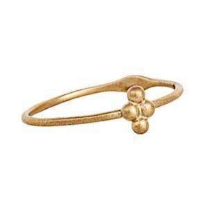 Carré My Precious 10 kt guld Fingerring matteret, model TR2194
