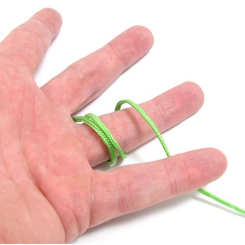 Finger størrelse med en snor - se hvordan på Guldsmykket.dk