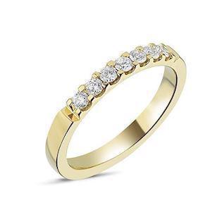 Memories by Nuran, 14 karat guld ring med 0,28 ct brillanter