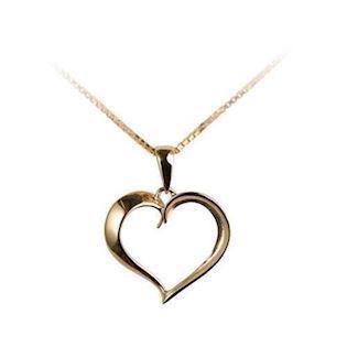 1f79fc28874 Hjerte halskæde - Vi forhandler hjerte halskæder til gode priser