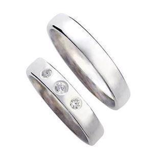 59a2beb5c73 Vielsesringe smykker fra Randers Sølv KØB dem billigst hos ...