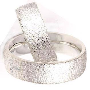 89af1e427c6 Randers Sølv ringe med 14 karat guld hjerter og to lækre overflader