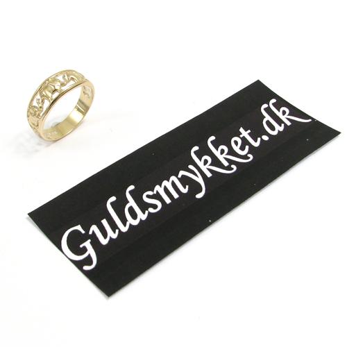 Mål din ring med et stykke papir - se hvordan på Guldsmykket.dk