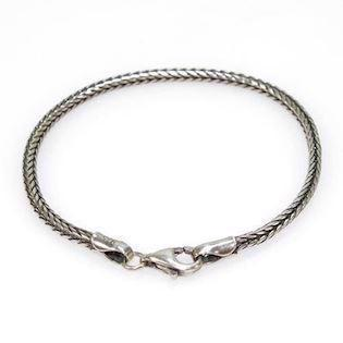 San - Link of joy Basic Silver Chains 925 sterling sølv armbånd blank, model 60202