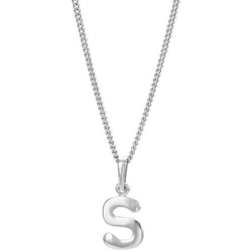 halskæde med bogstav sølv