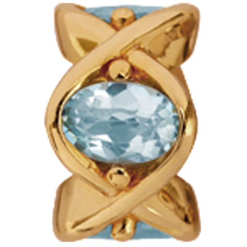 630-G06sky , Christina Design London Sky Topaz rings