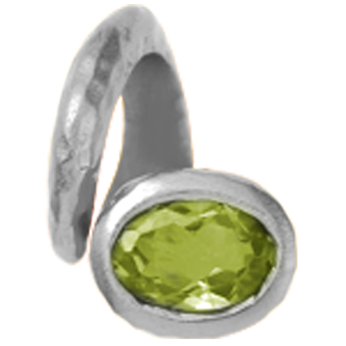 Christina Collect Peridot rings