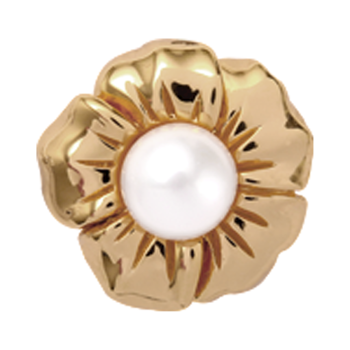 650-G06 , Christina Collect Pearl Flower rings