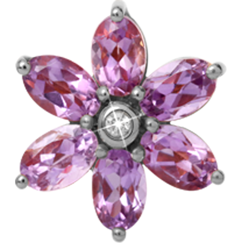 Christina Collect Stor Amethyst rings