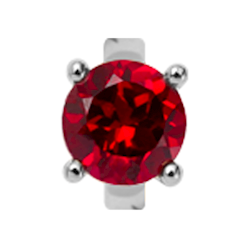 Christina Collect Rund Garnet rings*