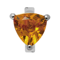 Christina Collect Trekantet Citrine rings