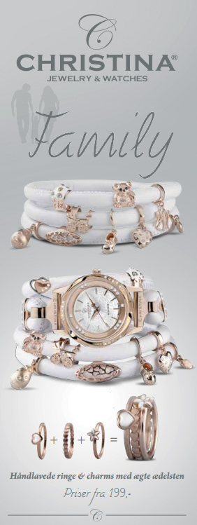Family smykker fra Christina Jewelry & Watches hos Ur-Tid.dk