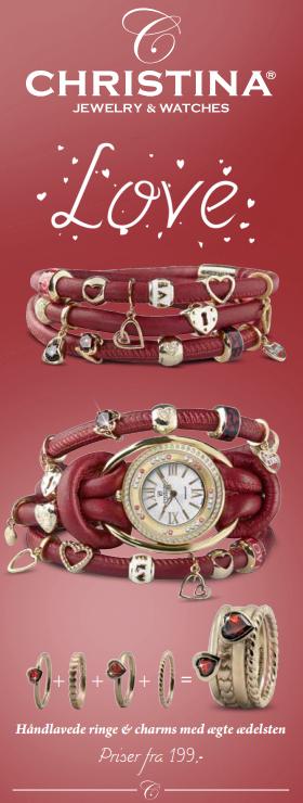 Love smykker fra Christina Jewelry & Watches hos Ur-Tid.dk