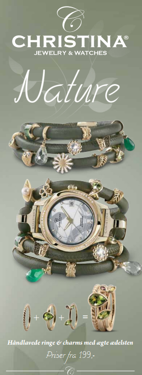 Nature smykker fra Christina Jewelry & Watches hos Ur-Tid.dk