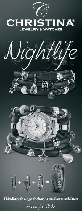Nightlife smykker fra Christina Jewelry & Watches hos Ur-Tid.dk