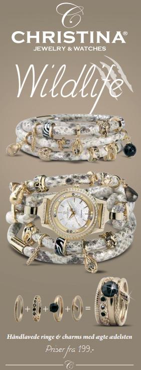 Wildlife smykker fra Christina Jewelry & Watches hos Ur-Tid.dk