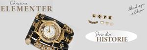Christina Elements, du skriver din egen historie eller pynter dit ur som du ønsker