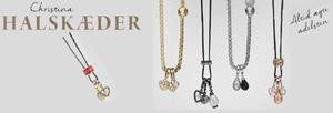 Christina halskæder, hvor du sætter hangers på som du ønsker