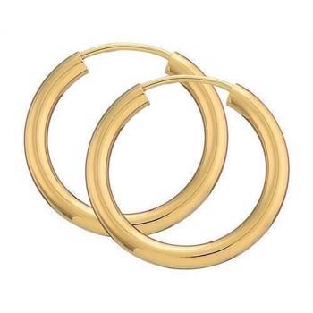 ffbfe613d8f Guld creol øreringe i både 8 eller 14 karat i mange størrelser og ...