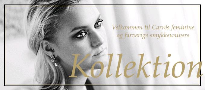 Carré romantiske smykker hos Guldsmykket.dk