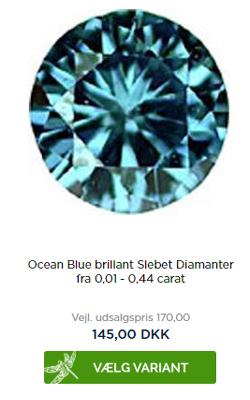 diamant priser pr karat