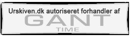 Urskiven.dk er Autoriseret Gant Time ur forhandler, din sikkerhed for en god handel