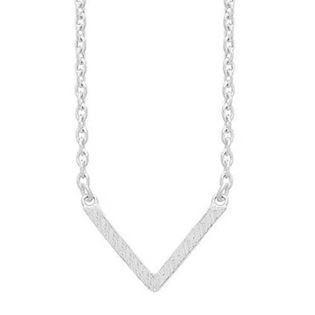 frk Lisberg Vibeplain 925 Sterling sølv Collier blank, model Vibeplain3171-925