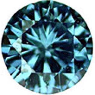Ocean Blue brillant Slebet Diamanter fra 0,01 - 0,44 carat