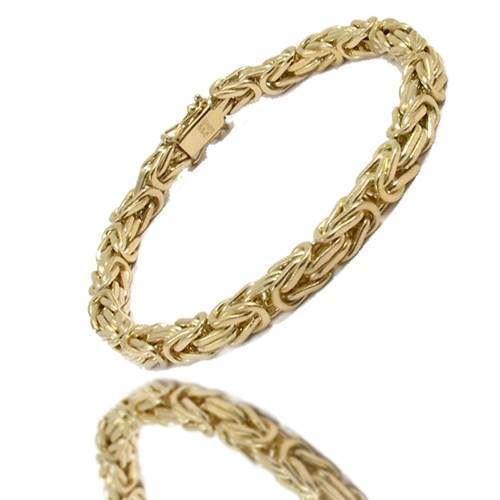 b4406056e08 14 karat Massive Guld Konge armbånd og halskæder fra Danske BNH