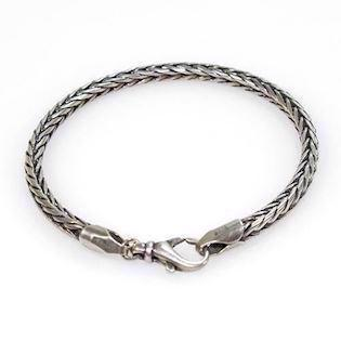 San - Link of joy Basic by San 925 Sterling sølv Armbånd blank, model 60702
