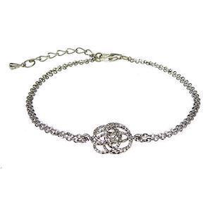 San - Link of joy More than One 925 sterling sølv armbånd rhodineret, model 97955-A