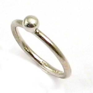 Spinning 925 sterling s�lv fingerring m/ s�lv kugle